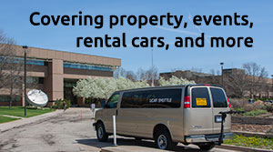 Protecting property, covering rental cars, fleet vehicles, and more