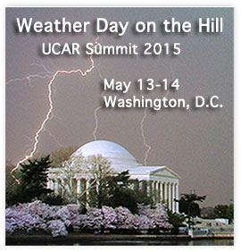 Weather Day on the Hill - UCAR Summit 2015