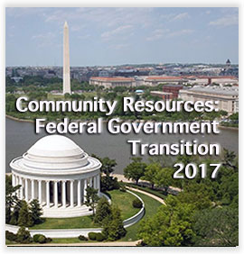 Community Resources: Federal Government Transition 2017