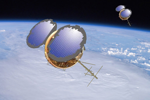 Low-cost data from space: COSMIC satellite system in low-earth orbit
