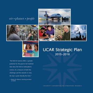 Cover of UCAR Strategic Plan 2015-2018
